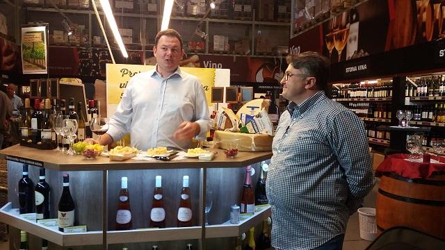 Degustacija vina i uparivanje sa sirevima u METRO DC Krnjača