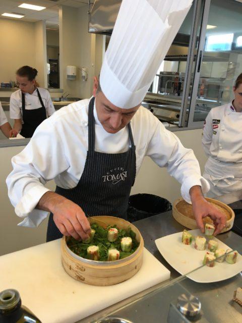 Majstor finger food-a Đanluka Tomazi održao master klas srpskim kuvarima u METRO HoReCa Centru