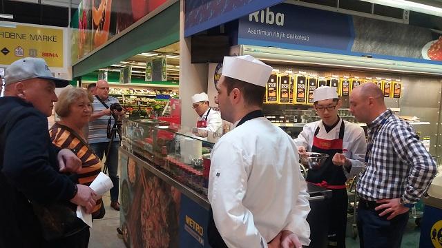 Vrhunski šefovi podelili svoje kulinarske tajne posetiocima METRO-a - Dani Azije