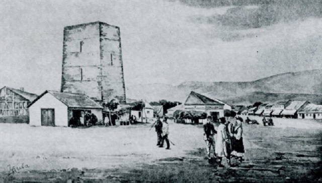 Čaršija u Pirotu - iz knjige Stari Pirot