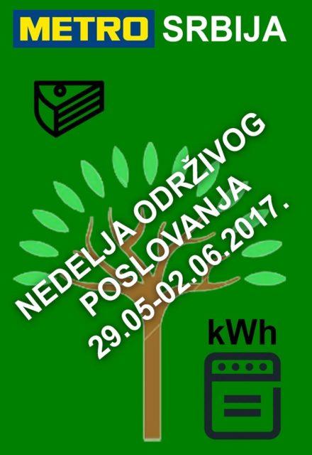 Nedelja održivog razvoja - Metro Cash & Carry Srbija