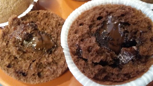 Čokoladni muffini sa nutelom - Ana Vuletić