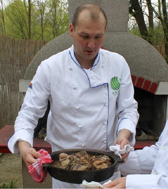 Škola kuvanja na tradicionalni način - Dejan Ilić