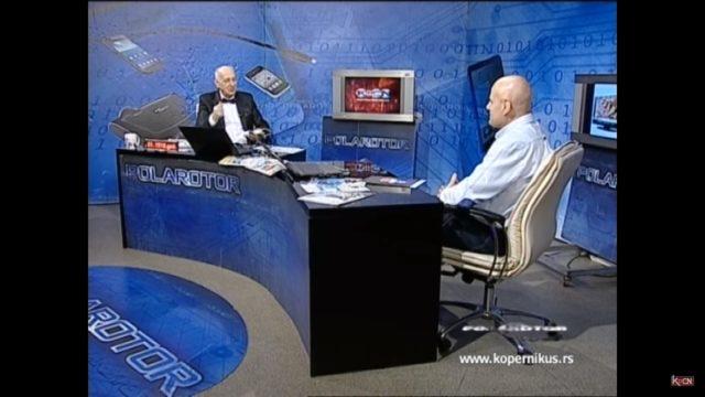 Recepti i Kuvar online u emisiji Polarotor na Kopernikus 1 televiziji - prof dr Dragan Ćosić i Miodrag Ilić
