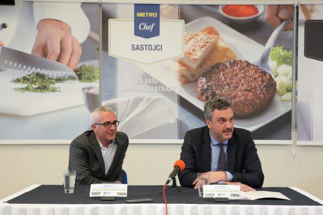 Roberto Mankuzo, CEO Metro Srbija i Marko Čadež, predsednik PKS