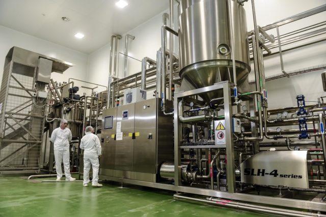 U Dobanovcima je danas svečano otvorena fabrika dečije hrane – Baby Food Factory