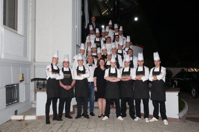 Junir Chefs Club sa Nj. E., ambasadorka Kanade u Srbiji, Kati Čaba