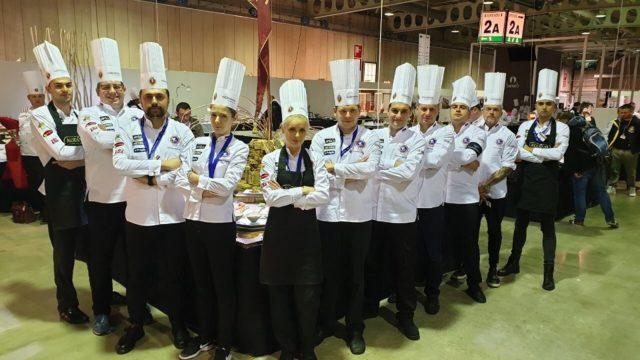 Mladi kuvari iz Srbije osvojili srebro u Luksemburgu! Tim Junior Chefs Cluba Srbije - Luksemburg 2018.