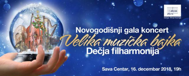 Budite i vi deo Velike muzičke bajke Dečje filharmonije