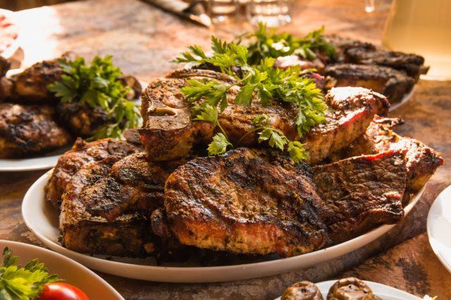 Turska kuhinja - pečeno meso