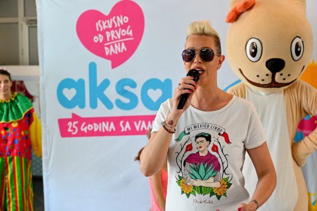 Aksa donirala vrtiće povodom 25 godina postojanja - Tijana Dapčević