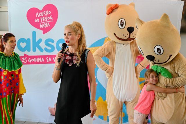 Aksa donirala vrtiće povodom 25 godina postojanja - Milica Bursać