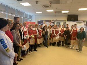 Cookathon organizatori i učesnici- photo Metro Cash & Carry