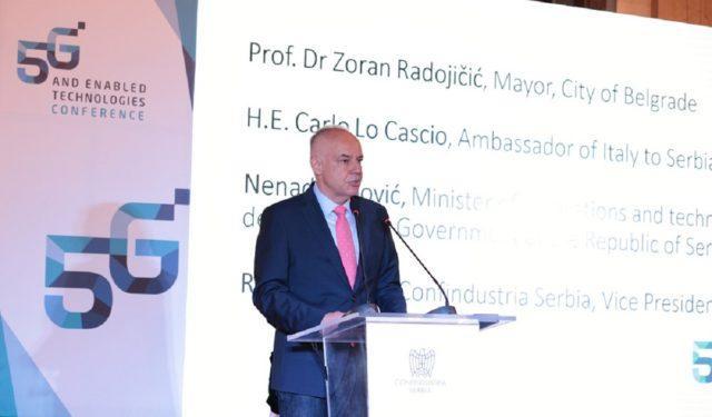 Gradonačelnik Beograda prof dr Zoran Radojicic - foto Konfindustrija