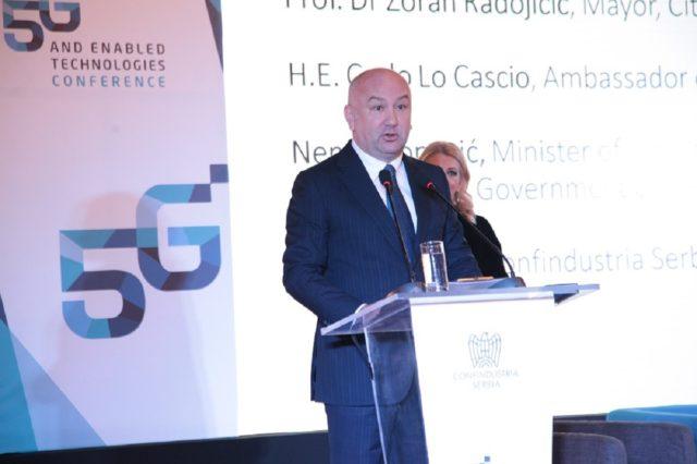Ministar Nenad Popović - foto Konfindustrija