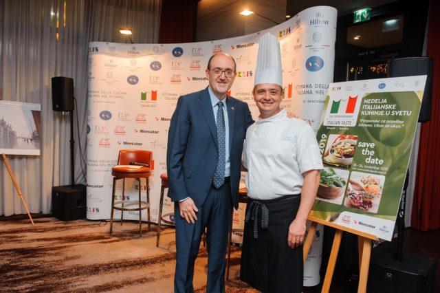 IV nedelja italijanske kuhinje u svetu - Ambasada Italije
