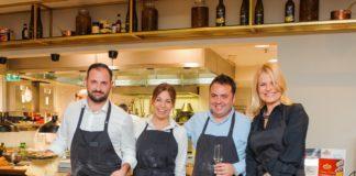 """Konfindustrija i Alitalija organizovali tematsku večeru pod nazivom """"Italijanska kuhinja među oblacima"""". 19.11.2019. - gostujući kuvari - Nord Communications"""