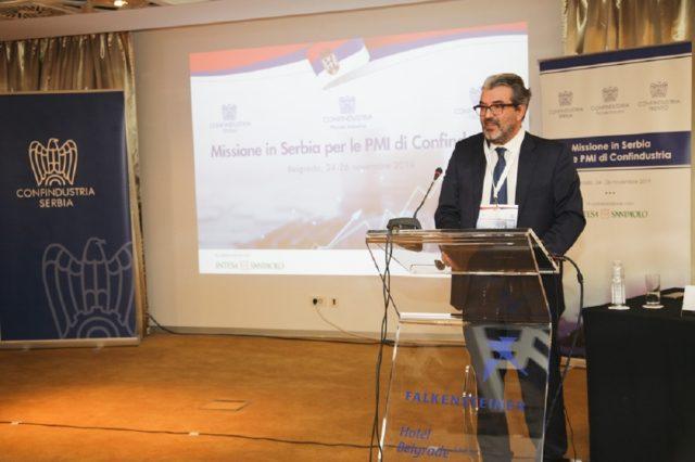 30 italijanskih kompanija danas i sutra u Beogradu - Romano Rosi potpredsednik Konfindustrije Srbija - foto Nord Communications