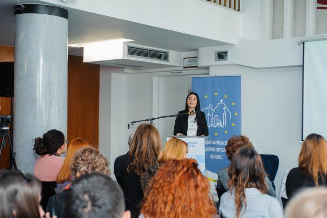 Snezana Radinovic, direktorka RAREI, Evropska nedelja preduzetnistva - foto agencija ProPR