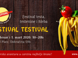 Festival testa, testenine i hleba u Beogradu, Testival 2020
