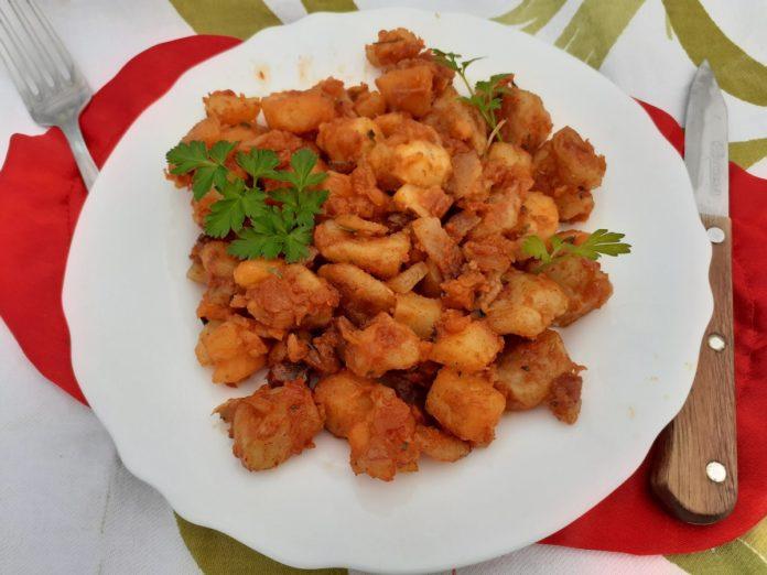 Valjušci sa krompirom (nasuvo sa krompirom) - Tatjana Stojanović - Recepti i Kuvar online