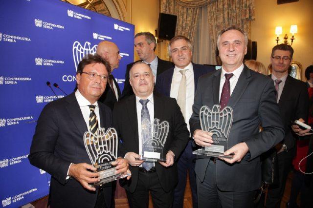 Dobitnici Konfindustrija nagrada - foto Miroslava Simić