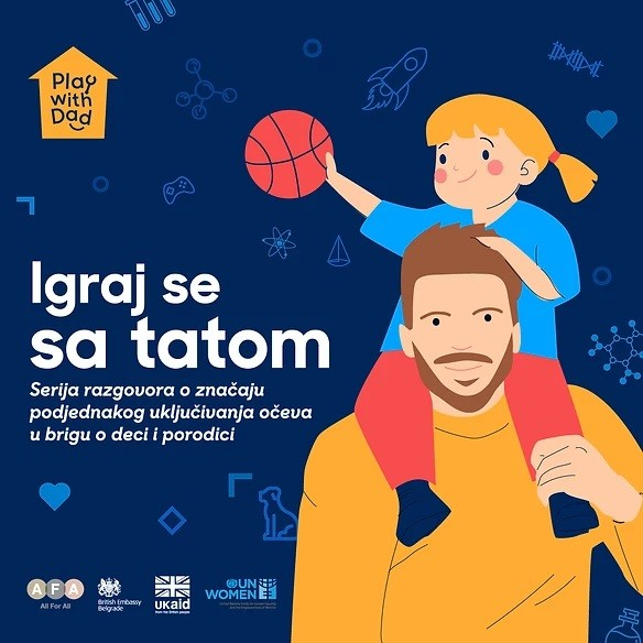 "AFA – all for all lansirala projekat  "" Igraj se sa tatom!"""