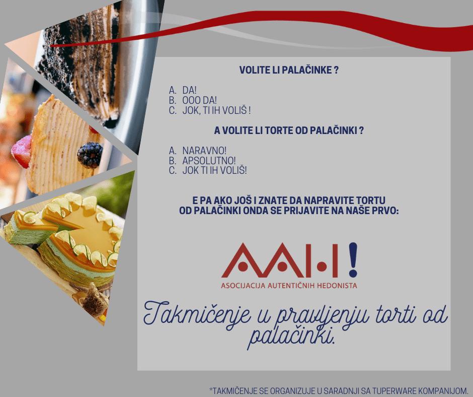TESTIVAL takmicenje u pravljenju torti od palacinki AAH Tupperware