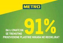 METRO inicijativa za smanjenje upotrebe plastike - photo by METRO