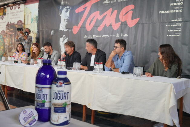 Brunch Šabacke mlekare za novinarsku projekciju filma Toma - foto Šabačka mlekara