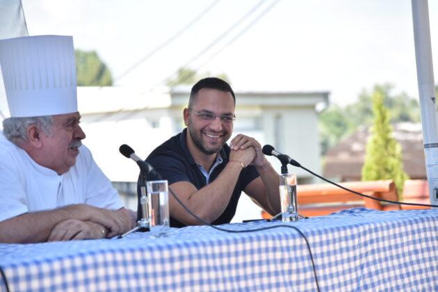 Stambol Geštamov, Damir Handanović, Fish Fest 2021 konferencija za medije, fotograf Belkisa Beka Abdulović